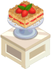 Oven-Strawberry Coffee Cake