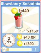 Bakery drink StrawberrySmoothie
