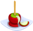 Oven-Candy Apple plate