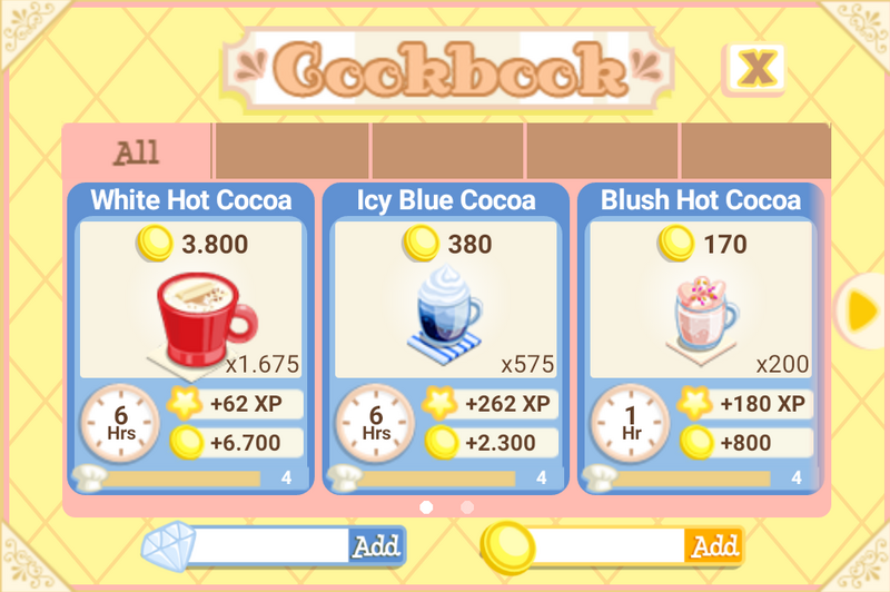 Cocoa Maker recipes (1)