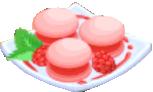 Oven-Raspberry Macaron plate