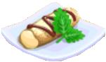 Oven-Cannoli plate