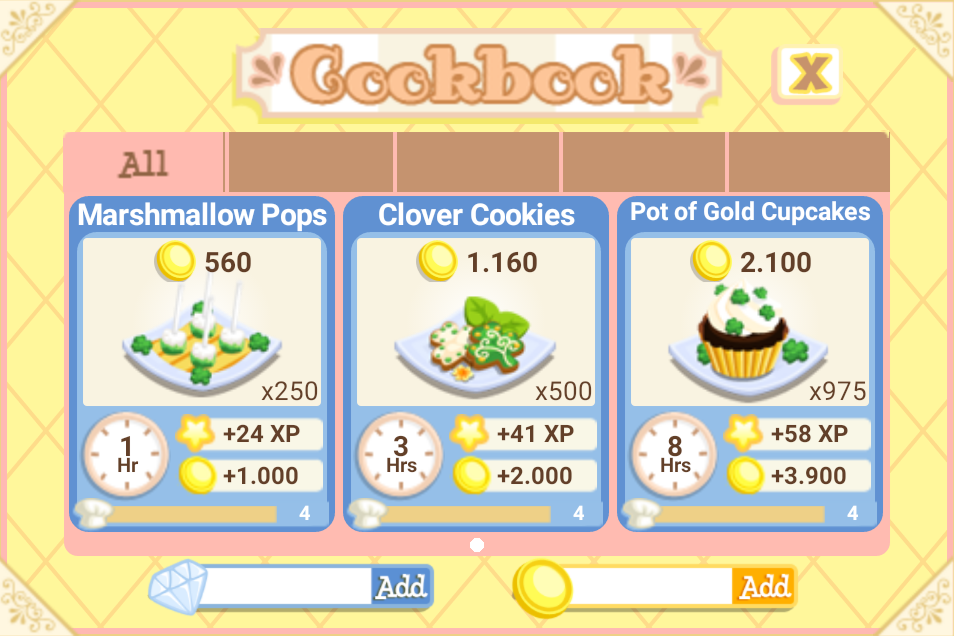 Lucky Oven recipes