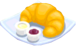 Oven-Croissant plate