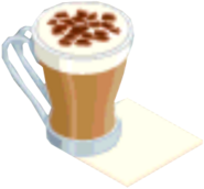 Drink Mixer-Mocha plate