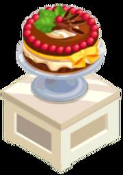 Oven-Chocolate Cherry Trifle