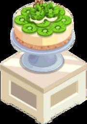 Oven-Kiwi Cheesecake