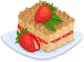 Bakery Oven StrawbeeryCoffeCake