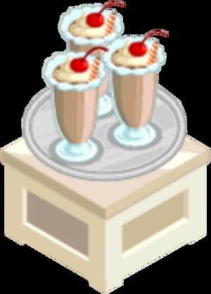 Drink Mixer-Chocolate Milkshake