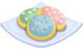 Oven-Sugar Cookie plate