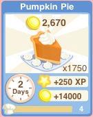 Bakery Oven PumpkinPie