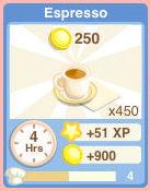 Bakery drink Espresso