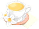 Drink Mixer-Orange Blossom Tea plate