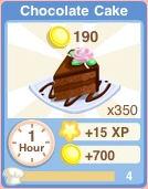 Bakery Oven ChocolateCake