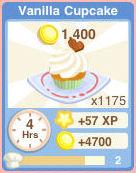 Bakery Oven VanillaCupcake