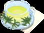 Drink Mixer-Oolong Green Tea plate