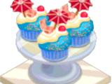 Beach Cupcake
