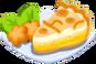 Oven-Coconut Cream Pie plate
