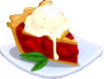 Oven-Cherry Pie plate
