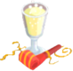 Drink Mixer-Sparkling Cider plate