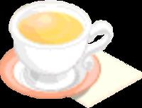Drink Mixer-Chamomile Tea plate