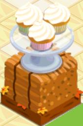 Oven-Vanilla Cupcake