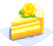 Oven-Citrine Cake plate