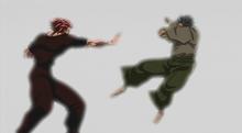 Motobe vs yujiro