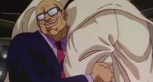 Doppo holding suedo