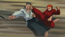 Baki vs kurokawa