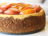 Savannah Peach Cheesecake