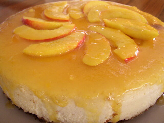 File:Peach cheesecake.jpg