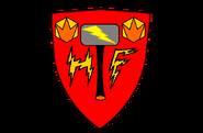 "Логотип команды ""Молот Гнева"""
