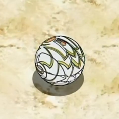 Lumagrowl in ball form (closed)