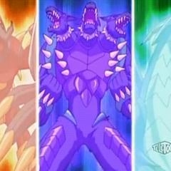 Horridian, Bolcanon, and Krakenoid using <b>Deathmetal Army</b>