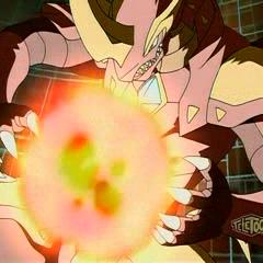 Helix Dragonoid using Fusion Ability <b>Dragon Impulse</b>