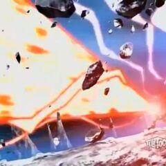 Titanium Dragonoid using <b>Dragon Maximum Striker</b>