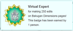 Only person badge