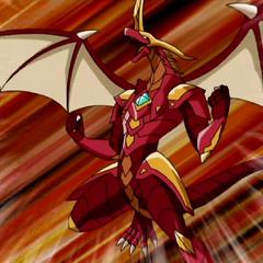 Helix Dragonoid in Bakugan form