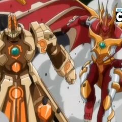 Blitz Dragonoid and Coredem