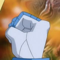 Hairadee's fist