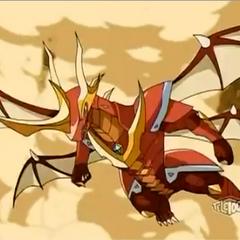 Lumino Dragonoid flying