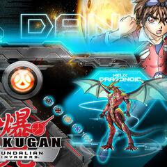 Dan and Helix Dragonoid (Gundalian Invadrs Wallpaper)