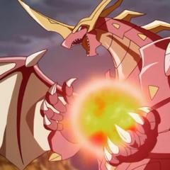Helix Dragonoid using Fusion Ability <b>Dragon Surge</b>