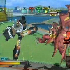 Wilda VS Neo Dragonoid