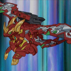 Lumino Dragonoid and CrossBuster in sphere mode