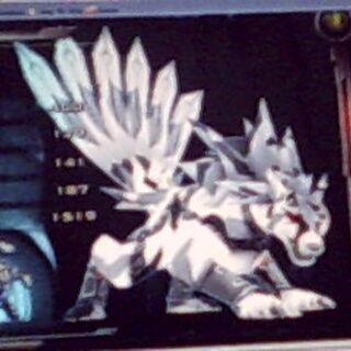 BakuCamo Lumagrowl in Bakugan Dimensions