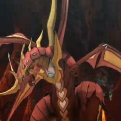 Cross Dragonoid in Bakugan: Defenders of the Core