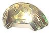 Flare Metal Sole Saint Gold