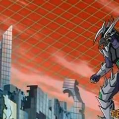 Infinity Helios using <b>Battle Warrior</b>